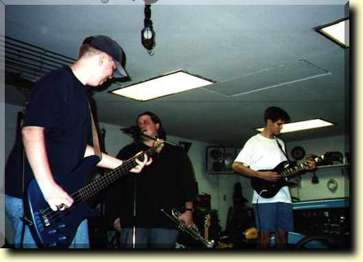 This is a fairly old pic of The Gops at practice.  You can see Mills, BJ, and Adam